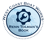 West Coast Boat Works link to the Official website of Renn Tolman's book